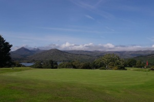 The view from the second green at Glengarriff Golf Club