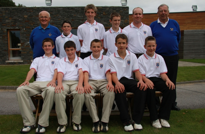 GOLF_Munster Branch_Inter County Boys_Cork North_Sept09