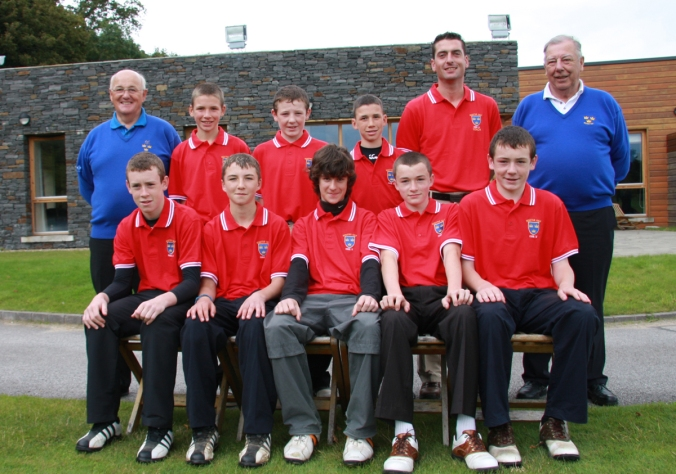 GOLF_Munster Branch_Inter County Boys_Cork South_Sept09