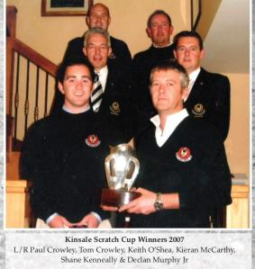 Kinsale Scratch Cup Winners 2007