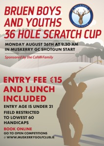 Bruen boys 36 hole poster