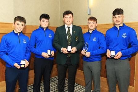 Munster Golf winners pictured at the annual awards night. Picture: Niall O'Shea