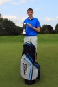 Eoin Magill from East Clare who won the Munster Boys Under 16 Open Championship at Roscrea Golf Club. Picture: Niall O'Shea