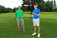 Eoin Magill from East Clare, winner of Munster Boys Under 16 Open Championship at Roscrea Golf Club, pictured. Picture: Niall O'Shea