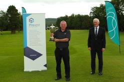 Munster Seniors winner John O'Brien (Castlemartyr) pictured Mark O'Sullivan, Provest. Picture: Niall O'Shea